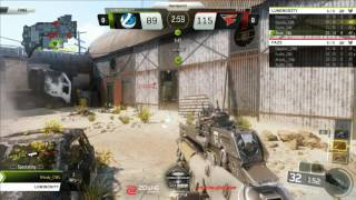 Faze Clan vs Luminosity at the Call of Duty MLG Anaheim Open Day 1