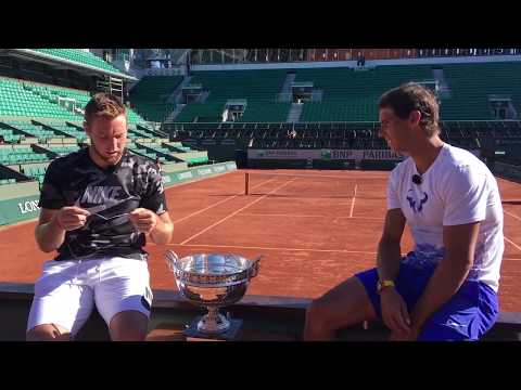 Rafael Nadal & Jack Sock interview each other