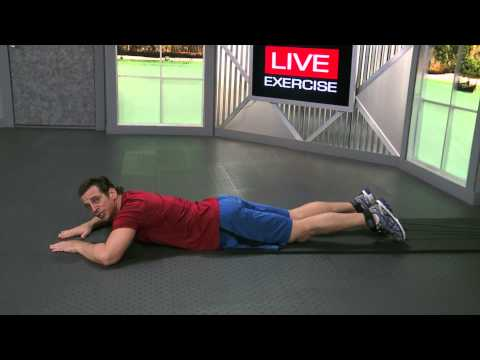 HOW TO DO Lying Hamstrings Curl with Resistance Bands