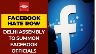 Delhi Assembly Panel To Summon Facebook Officials Over Inaction To Contain Hate Contain - Download this Video in MP3, M4A, WEBM, MP4, 3GP