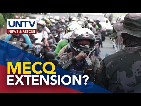 [UNTV]  NCR MECQ, kailangang palawigin pa nang 2 linggo para mapigilan ang pagkalat ng COVID-19 -Leachon