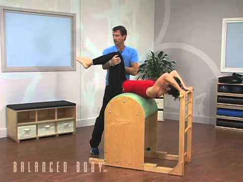 עבודת בטן על ה- Ladder Barrel