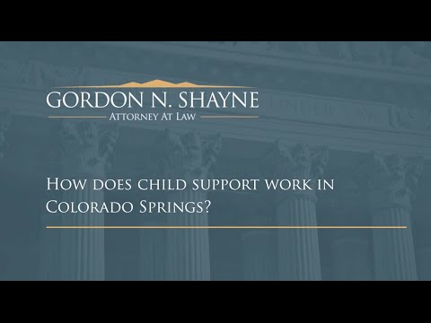 How Does Child Support Work in Colorado Springs? | Colorado Springs Family Law