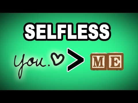 Download 👐 Learn English Words: SELFLESS - Meaning, Vocabulary with Pictures and Examples Mp4 HD Video and MP3