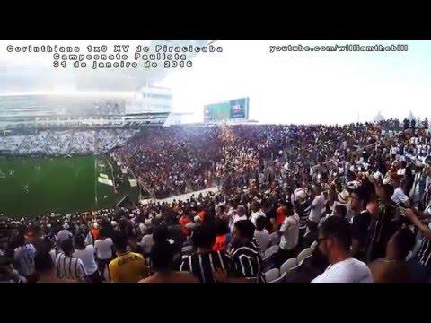 Veja o gol de Romero filmado do meio da Fiel