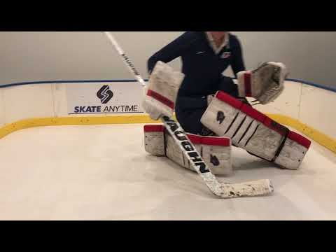 Goalie slides