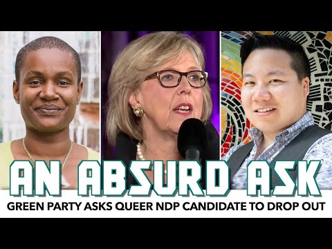 Green Party Asks Queer NDP Candidate To Drop Out