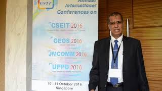 GEOS 2016 Dr. Saber Hussein