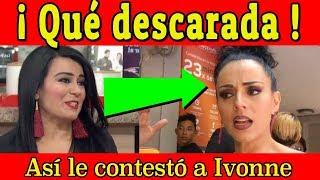 Magüicha ASÍ LE RESPONDE A Ivonne Montero SOBRE SU POLÉMICA ACUSACIÓN