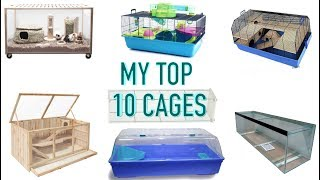 MY TOP 10 HAMSTER CAGES