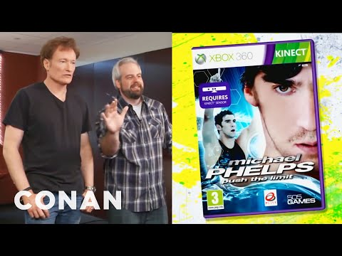 Conan recenzuje hru Michael Phelps: Push the Limit