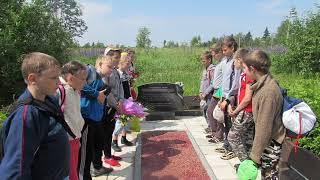 Первые шаги юных туристов (в окрестностях поселка Коханово)