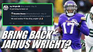 Should the Minnesota Vikings Bring Back Jarius Wright? (SPOILER: Yeah No)
