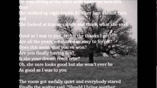 Good As I Was To You Lorrie Morgan w lyrics Video