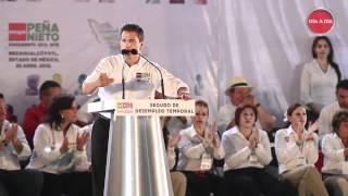 preview picture of video 'Peña Nieto - Resumen del Discurso en Nezahualcóyotl, Estado de México'