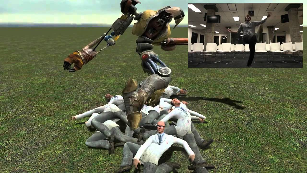 Kinect Was Born For Garry's Mod