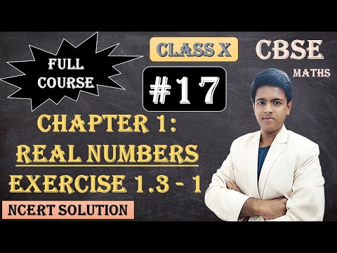 CBSE Full Course | 1 - Real Numbers | Exercise 1.3 :  1 Prove that √5 is irrational.