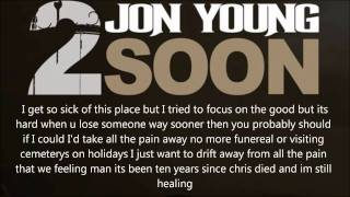 """Jon Young- 2 Soon """"If I Die Young"""" The Band Parry Remix Lyric Video"""