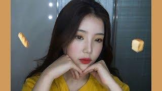 취향저격🍞음영메이크업(ft.소소한꿀팁) Yellow Brown Makeup - [쩡유]