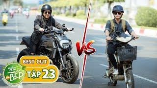 Tưởng được Trường Giang cho lái xe mô tô, Hùng Thuận không ngờ rằng... | Muốn Ăn Phải Lăn Vào Bếp