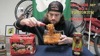 9 Million Scoville Spicy Ramen Noodle Challenge | L.A. BEAST