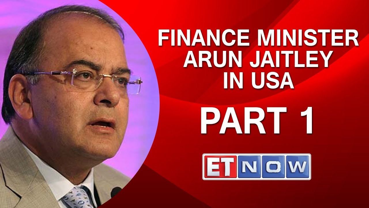 'The India Pitch'-- Financing Minister Arun Jaitley In U.S.A.|Part I thumbnail