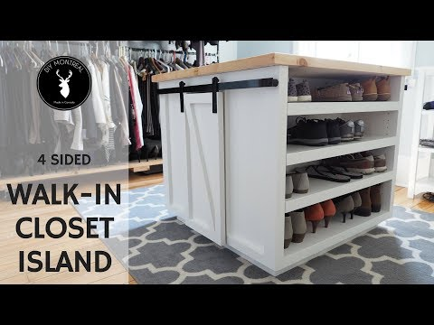 Walk-in Closet Island | DIY Furniture