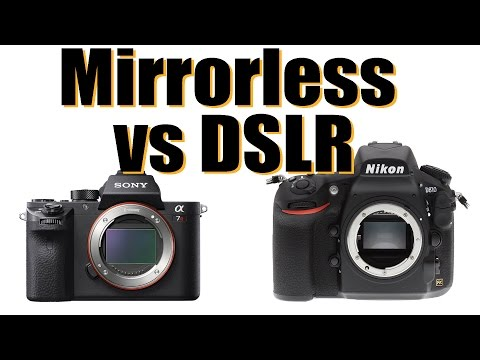 Mirrorless vs DSLR - what's the real issue?