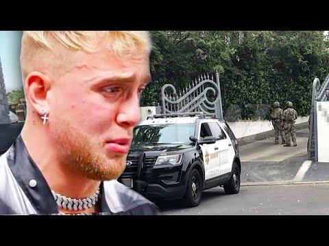Jake Paul Home Raided By FBI – Breaking News