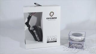 #1402 - CO:CAINE Headphone & Mobi Speaker Video Review