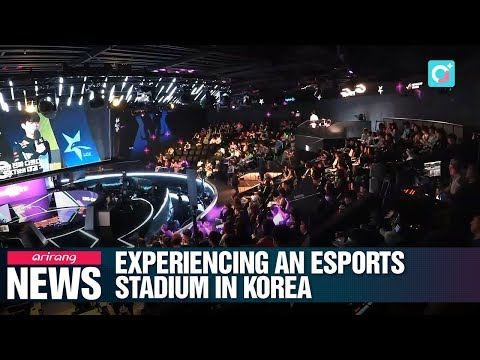 Experiencing an Esports stadium in Korea