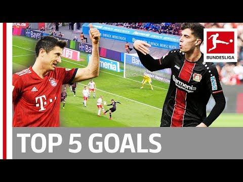 Lewandowski, Havertz, Cunha & More - Top 5 Goals on Matchday 28