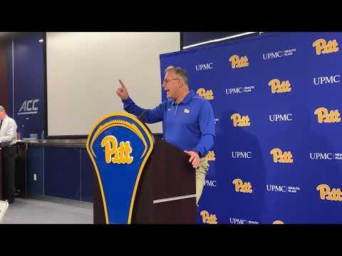 Pitt HC Pat Narduzzi 10/21/19 | Miami | PSN