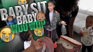 Asking Friends If They'll Baby Sit WooWop On Short Notice . . . * Crazy Reaction *