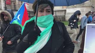London: Mahdem Baloch speech during awareness campaign