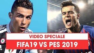 FIFA 19 vs PES 2019: qual è il miglior gioco di calcio dell'anno? Si apre la sfida!