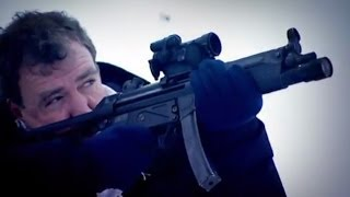 Guns & Ice: Winter Biathlon Challenge | Top Gear Winter Olympics | BBC