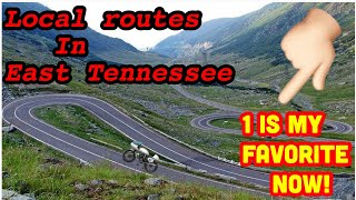 Motorcycle Routes- East Tennessee