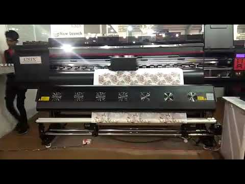 UN-5193- 3 Head Digital Dye Sublimation Printing Machine