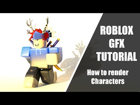 Download How To Render Your Roblox Character In Blender Gfx Tutori