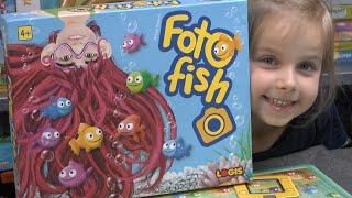 Foto Fish (Logis) - ab 4 Jahre - nominiert zum Kinderspiel des Jahres 2020 - inkl. gameplay