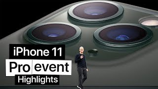 Apple iPhone 11 and 11 Pro event in 10 minutes