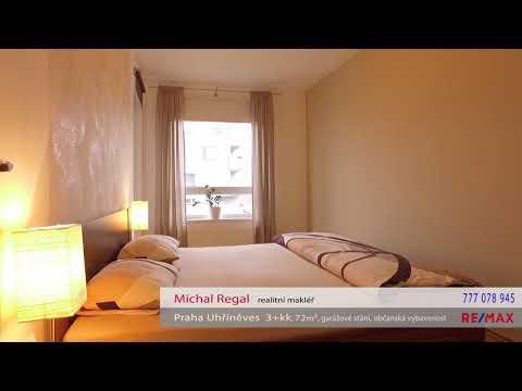 Video Prodej bytu 3+kk v osobním vlastnictví 72 m², Praha 10 - Uhříněves