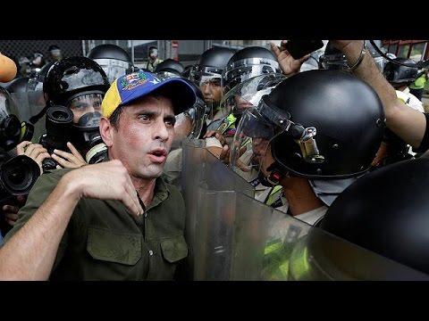 Βενεζουέλα: Νέες συμπλοκές διαδηλωτών με αστυνομικούς