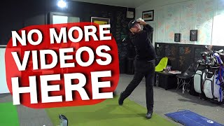 Why I've LEFT the golf academy......