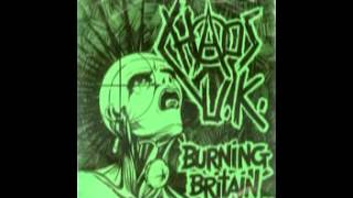 Chaos U.K. - Burning Britain EP (1982)