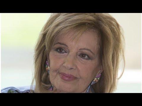 María Teresa Campos, denunciada por su empleada de hogar por despedirla cuando estaba en Perú
