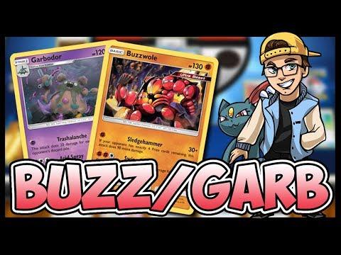 Buzzwole / Garbodor / Weavile – Pokemon TCG Online Gameplay