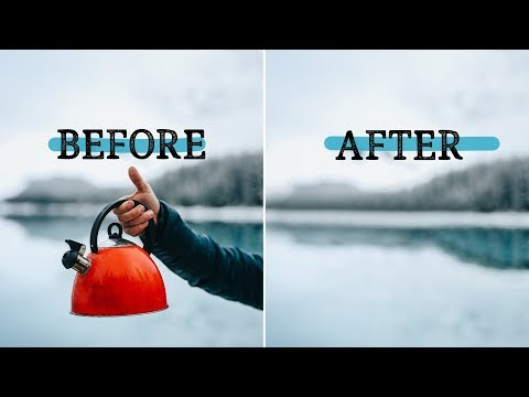 Remove ANYTHING from a photo using Photoshop! - SCARY GOOD software update!