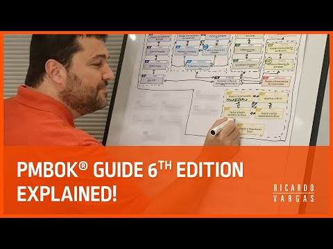 PMBOK® Guide 6th Ed Processes Explained with Ricardo Vargas ...